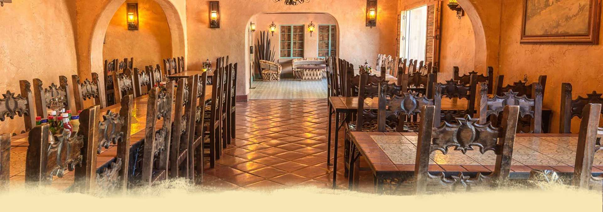White Stallion Ranch Dining Header