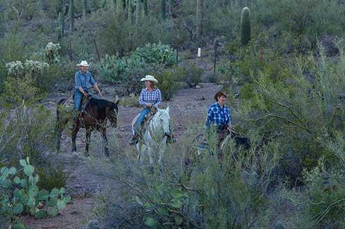 White Stallion Ranch Half Day Rides