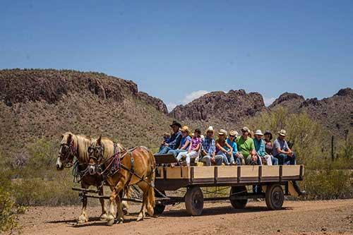 White Stallion Ranch Hayrides