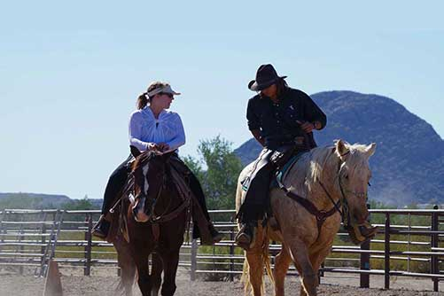 White Stallion Ranch Riding Lessons