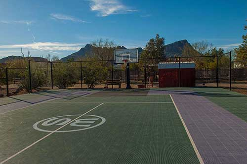 White Stallion Ranch Sports Court