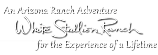 White Stallion Ranch Logo with Tagline