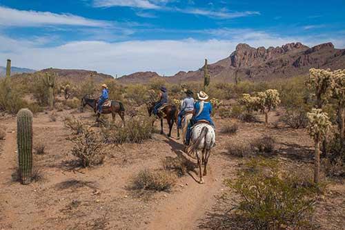 White Stallion Ranch Slow Rides