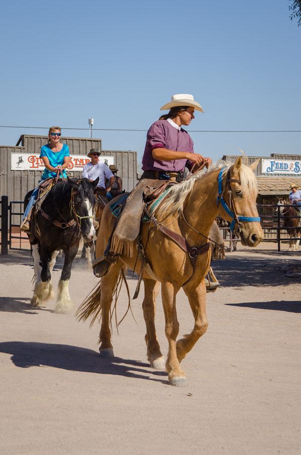 White Stallion Ranch Riding Photo Gallery