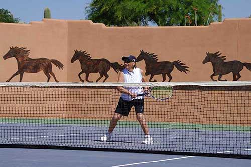 White Stallion Ranch Tennis Court