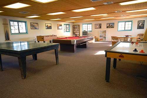 White Stallion Ranch Recreation Room