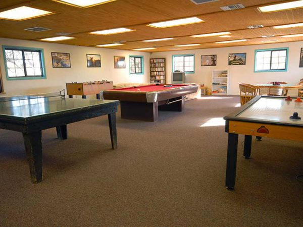 White Stallion Ranch Recreation Room