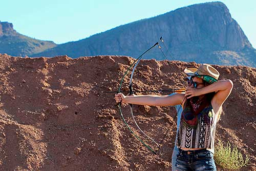 Archery at White Stallion Ranch