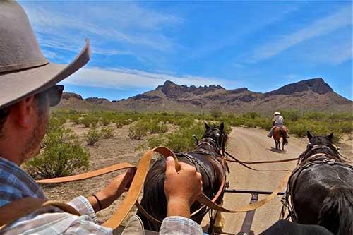 White Stallion Ranch Hay Ride
