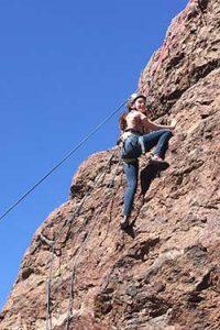 White Stallion Ranch Rock Climbing