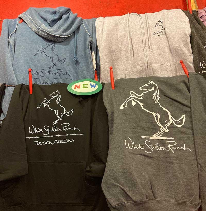 White Stallion Ranch Logo Sweatshirt